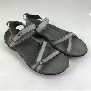 TEVA SPORT Verra Gray Water Outdoor Sandals Sz 8